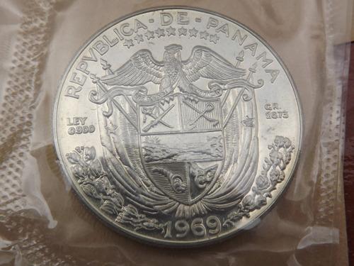 Excelente Colección De 6 Monedas. (2 De Plata). Panamá