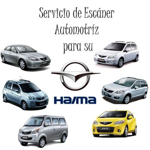 Haima S E R V I C I O De Escaner Automotriz 10$