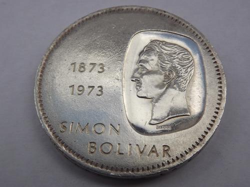 Moneda De Plata. 10 Bolívares. Doblón. . Venezuela