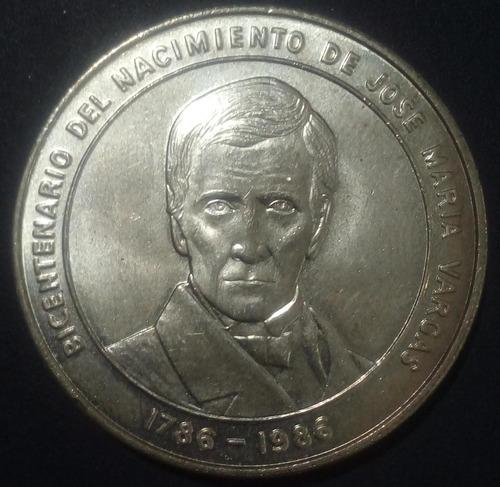 Moneda De Plata Bicentenario De José María Vargas
