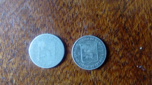 Moneda De Plata De 25 Centimos De