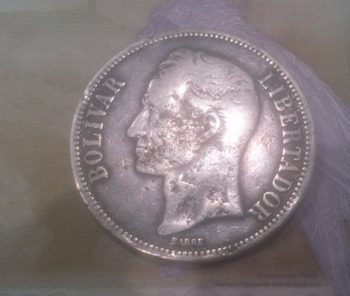 Moneda De Un Fuerte Año  Plata Leigr