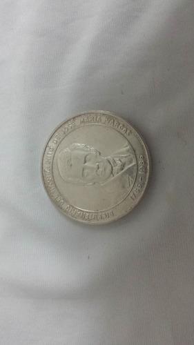 Moneda Del Bicentenario De José María Vargas Plata Ley 900