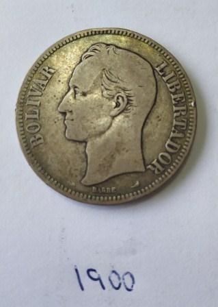 Moneda Fuerte De Plata Año  Lei  Gramos