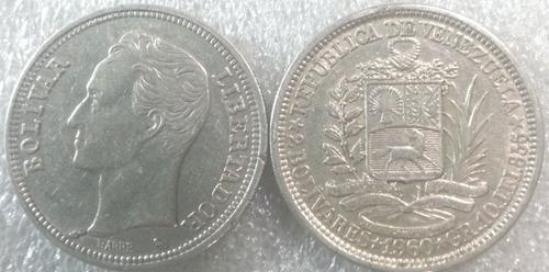 Monedas 2 Bs. Plata  Grms. Lei 835.