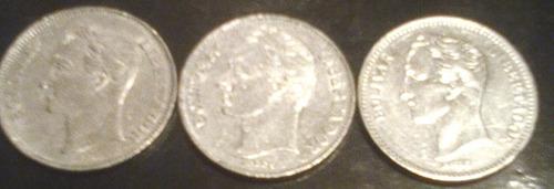 Monedas De 2 Bolivares Coleccion  Remato