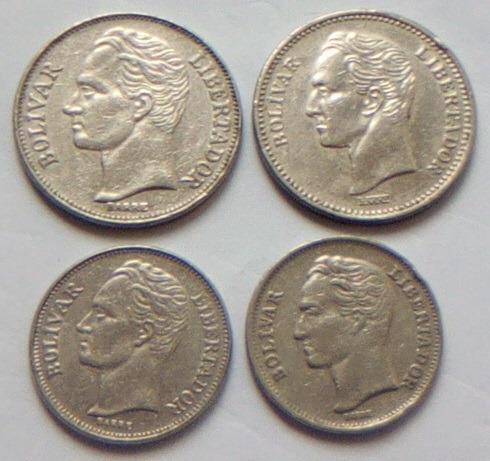 Monedas De 2 Bolivares  Y Bolivar