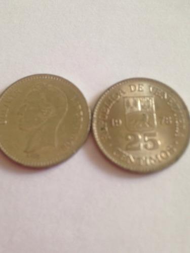 Monedas De Colección De 25 Céntimos