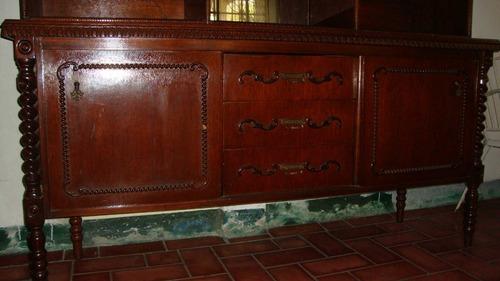 Mueble Ceibo De Madera Antiguo O De Colección