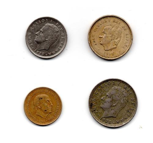 Pesetas Monedas España Coleccion Varias Coda2