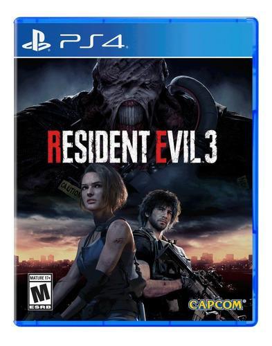 Resident Evil 3 Ps4 Juego Original Sellado / Santa Fe