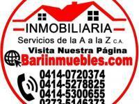 TOWNHOUSE VILLA DE SION en Barinas