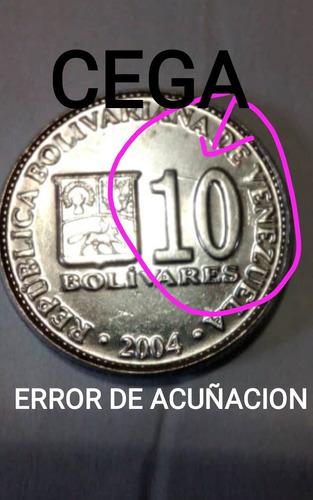 Vendo Pareja De Moneda De 10bs Y 20bs Año  Con Error
