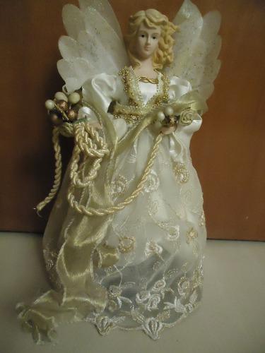 Angel De Navidad Para El Arbol De Navidad Porcelana Santini
