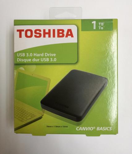 Disco Duro Externo 1tb Toshiba Usb  Original 65verd