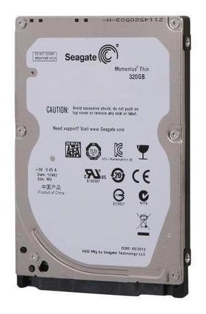 Disco Duro Seagate 320 Gb Slim 7mm Laptop