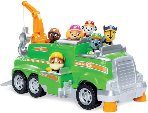 Paw Patrol Camion Incluye 6 Personajes