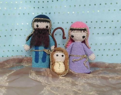 Pesebre Tejido En Crochet