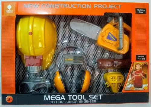 Set De Herramientas De Construcción Para Niños