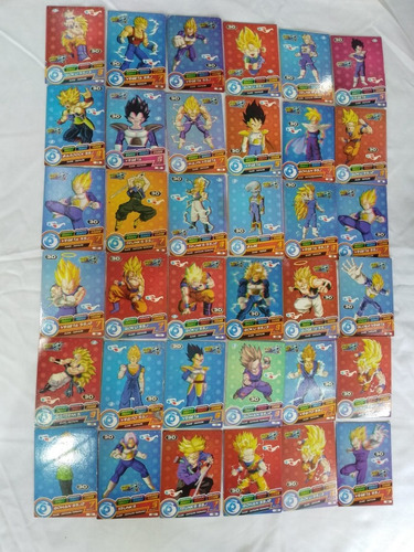 45 Tarjetas Coleccionables De Dragon Ball 15$ Todas