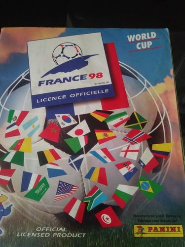 Album Panini Futbol Francia 98 Casi Lleno Impecable