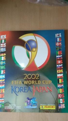 Album Panini Mundial De Futbol Korea Japon