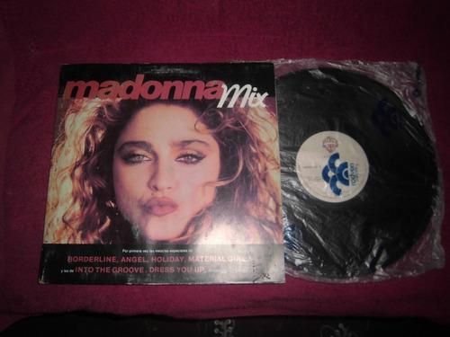 Disco Lp Vinil Acetato Madonna Mix
