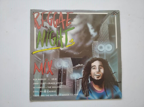 Disco Lp Vinil Reggae Night Mix Nuevo Sellad Ub40 Bob Marley
