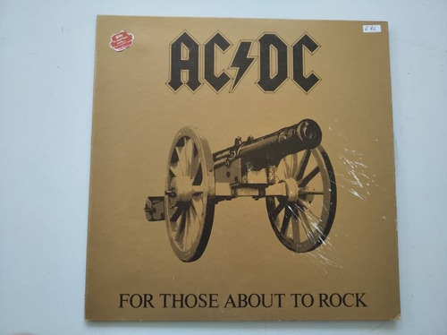 Disco Lp Vinil Rock Acdc For Those About To Rock Oferta