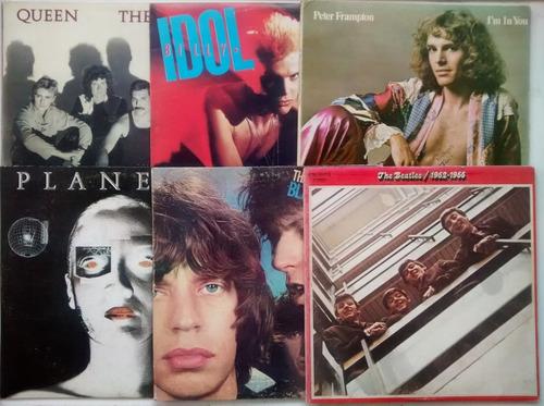 Discos De Acetato Rock Beatles Billy Idol Queen Peter Frampt