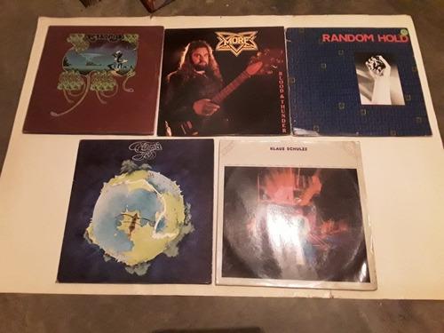 Discos De Rock Importados. Yes,utopia,saga Y Otros. Vinil,lp