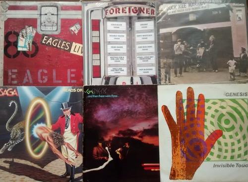 Discos Lp Vinil Rock Saga Foreigner Eagles Y Otros