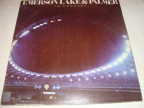 Emerson, Lake Y Palmer in Concert lp Vinil Rock Progresivo