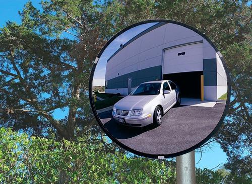 Espejo De Seguridad Convexo-concavo Para Exteriores, 60 Cm.