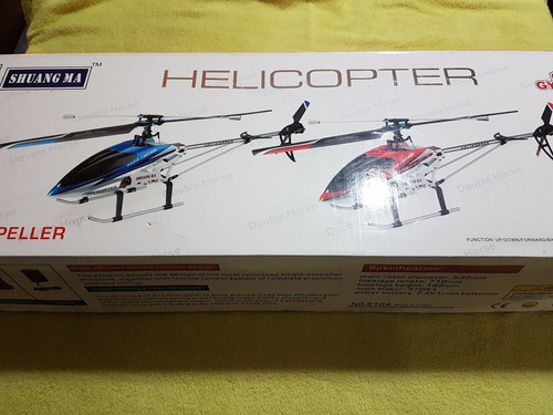 Helicoptero A Control Shuang Ma Double Horse