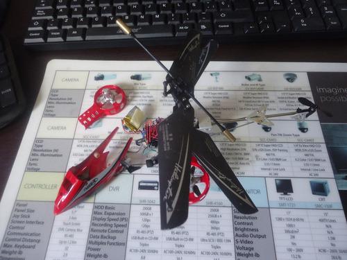 Helicoptero Para Armar Y Reparar (10)