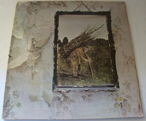 Led Zeppelin - Led Zeppelin Iv Lp Vinil Rock Ingles