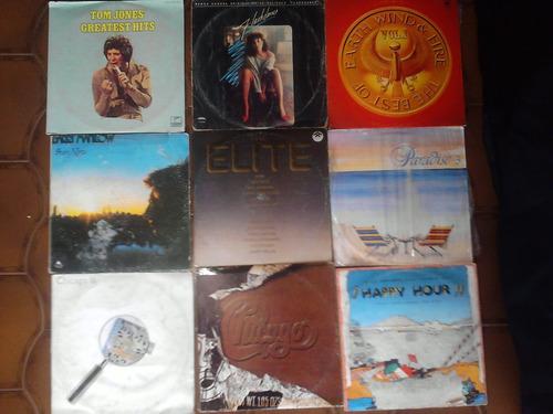 Lp Discos Vinyl En Ingles Pop Rock Disco Baladas 70s 80s Dj