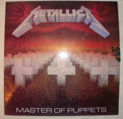 Metallica - Master Of Puppets - Lp Vinil Thrash Metal