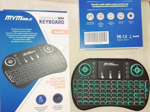 Mini Teclado Bluetooth Recargable Laptop Tv Pc. 10v.