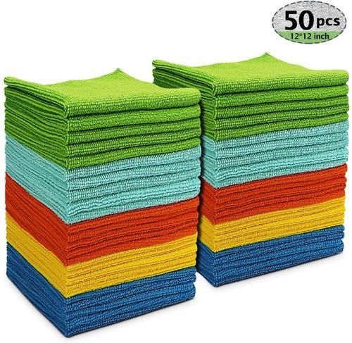 Paño Pañuelo De Microfibra Pack De 50 Unidades