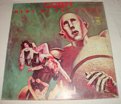 Queen - News Of The World - Lp Vinil Acetato