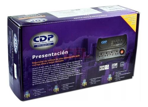 Regulador De Voltaje Cdp w/540va 6 Tomas Original Nuevo