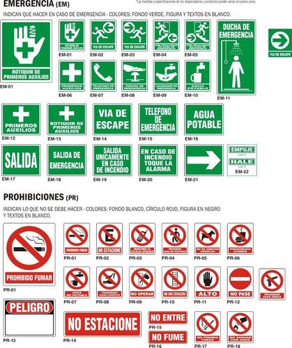 Señalizaciones Avisos De Seguridad Industrial Pvc Y Vinil