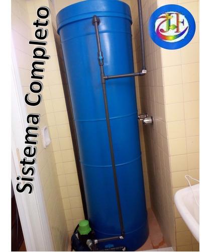 Tanque De Agua ltr Cilindrico Presscontrol
