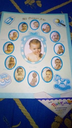 Álbum De Fotos De Bebé. Mi Primer Año