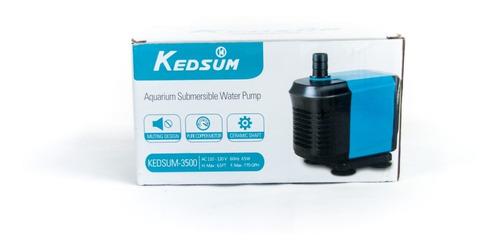 Bomba De Agua Sumergible Kedsum  G/h Acuarios Fuente
