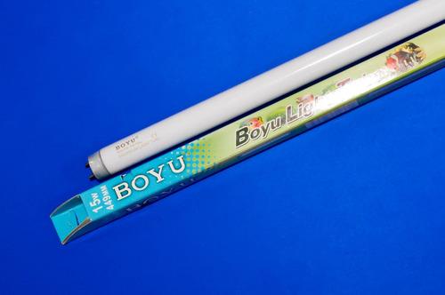 Bombillo Fluorescente Boyu 15w Blanco Acuario Pecera