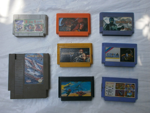 Cassettes Nintendo Asiatico - Precio Individual