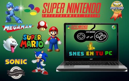 Emulador Super Nintendo Snes Para Pc Y Android